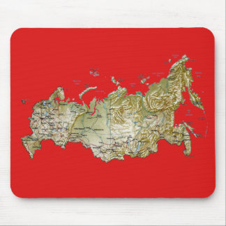 Russia Map Mousepad