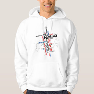 Russia Moscow Hoodie