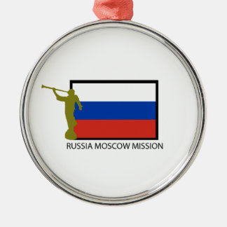 RUSSIA MOSCOW MISSION LDS CTR METAL ORNAMENT