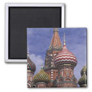 Russia, Moscow, Red Square. famous onions of St. Magnet