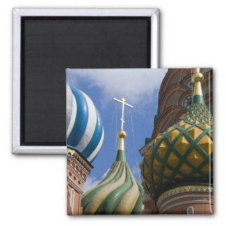 Russia, Moscow, Red Square. St. Basil's Magnet