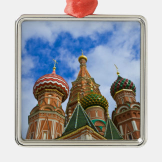 Russia, Moscow, Red Square, St. Basil's Metal Ornament