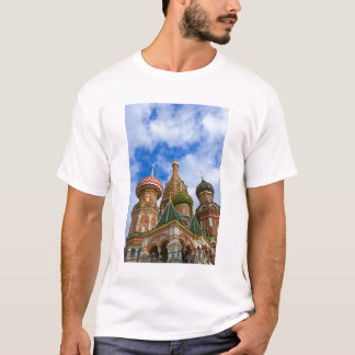 Russia, Moscow, Red Square, St. Basil's T-Shirt