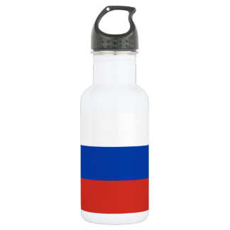 Russia National World Flag 532 Ml Water Bottle