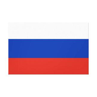Russia National World Flag Canvas Print