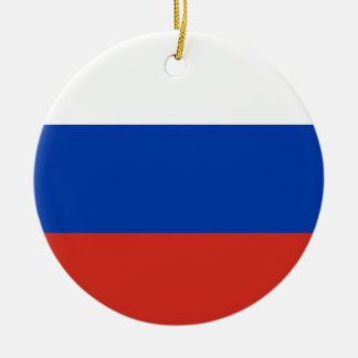 Russia National World Flag Ceramic Ornament