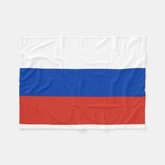 Russia National World Flag Fleece Blanket