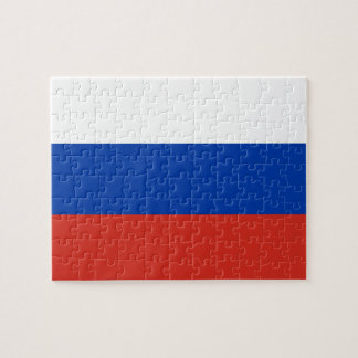 Russia National World Flag Jigsaw Puzzle