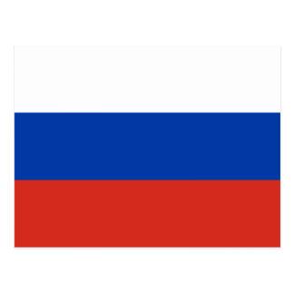 Russia National World Flag Postcard