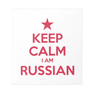 RUSSIA NOTEPAD