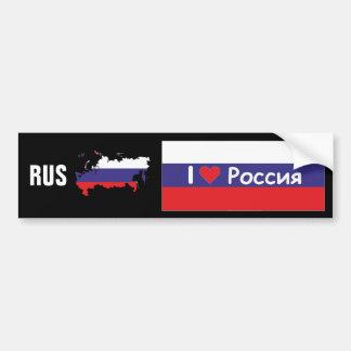Russia - Russia autosticker Bumper Sticker