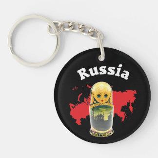 Russia - Russia babushka key supporter Keychain