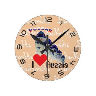 Russia - Russia babushka - Matrjoschka clock