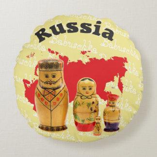 Russia - Russia babushka - Matrjoschka cushion