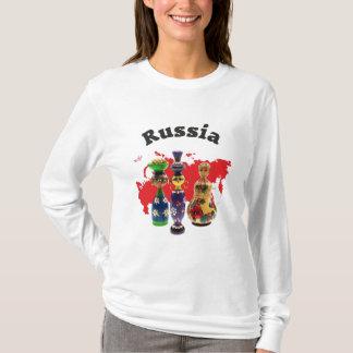 Russia - Russia babushka Matrjoschka T-Shirt