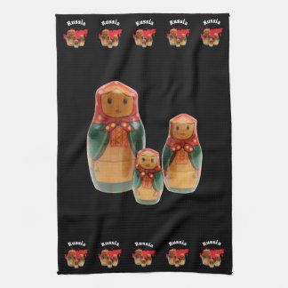 Russia - Russia babushka of table-ware cloths Hand Towel