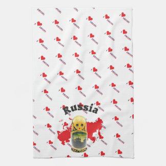 Russia - Russia babushka of table-ware cloths Kitchen Towels