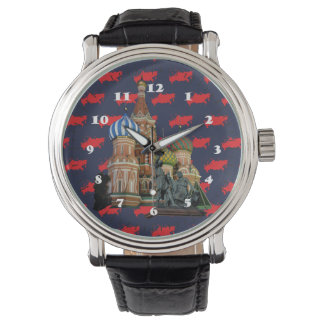 Russia - Russia Moscow clock Watch