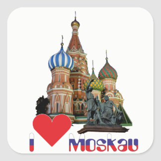 Russia - Russia Moscow sticker