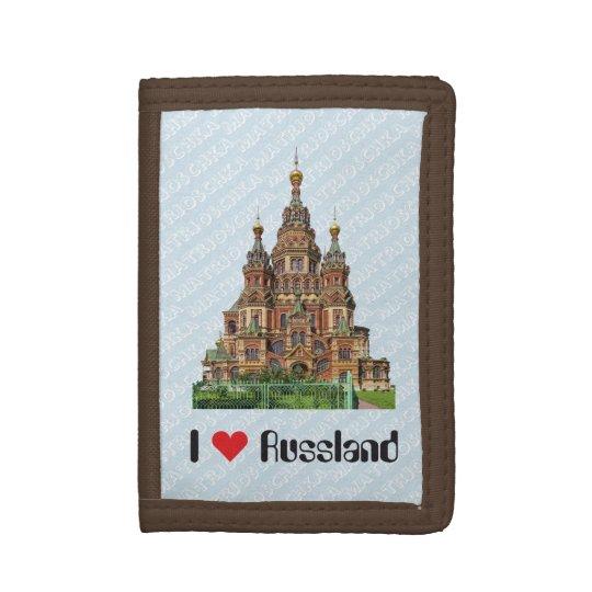 Russia - Russia purse Tri-fold Wallets