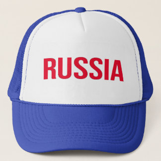 Russia Russian Federation Putin Soviet Union CCCP Trucker Hat