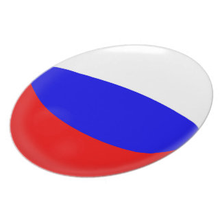Russia Russian Flag Plate