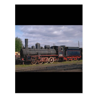 Russia, Ry 0-8-0 #324_Trains of the World Postcard
