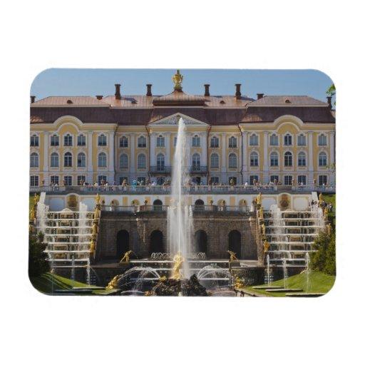 Russia, Saint Petersburg, Peterhof, Grand Palace Flexible Magnets