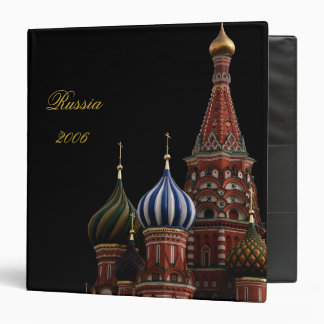 Russia Scrapbook Photo Album Binder