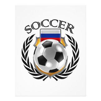 Russia Soccer 2016 Fan Gear Flyer Design