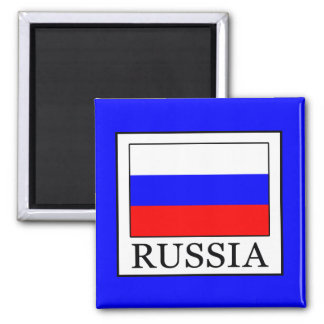 Russia Square Magnet