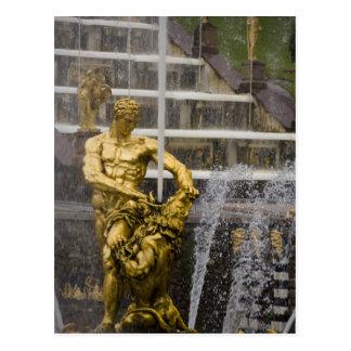 Russia, St. Petersburg, Peterhoff (aka 3 Postcard