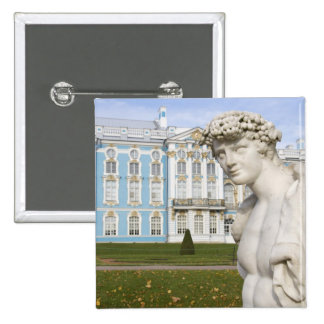 Russia, St. Petersburg, Pushkin, Catherine's 3 2 Inch Square Button