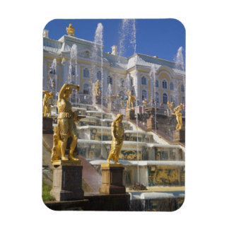 Russia, St. Petersburg, The Great Cascade, Rectangular Photo Magnet