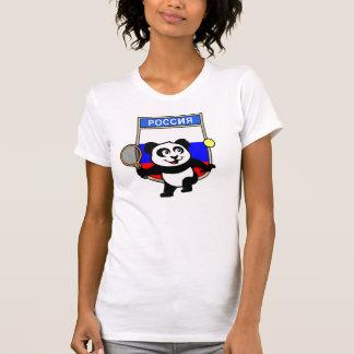 Russia Tennis Panda T Shirt