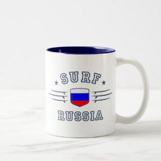 Russia Two-Tone Coffee Mug