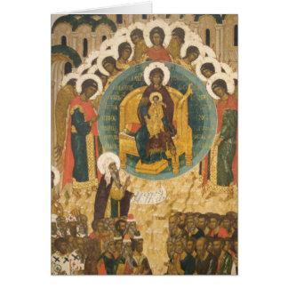 Russia, Vologda, Goritzy, Kirillov-Belozersky Card