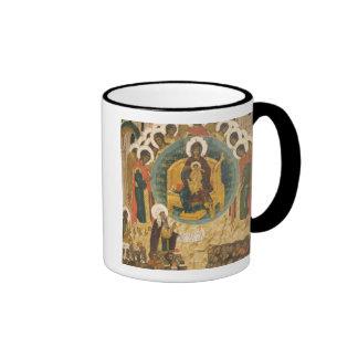 Russia, Vologda, Goritzy, Kirillov-Belozersky Ringer Coffee Mug