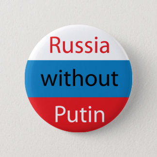 Russia without Putin 2 Inch Round Button