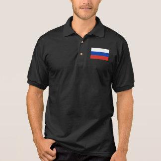 Russia World Flag Polo Shirt