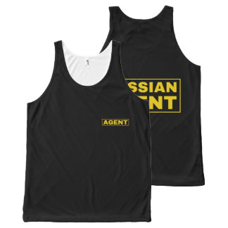 russian agent All-Over-Print tank top