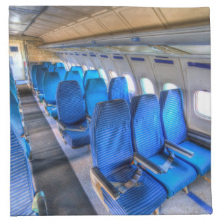 Russian Airliner Seating Napkin