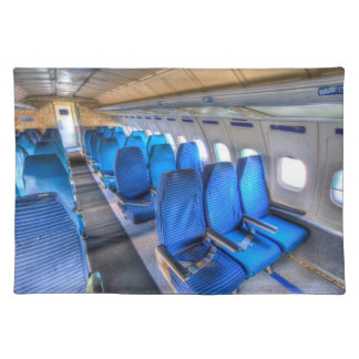 Russian Airliner Seating Placemat