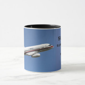 Russian Airliners Sukhoi 100 Collectors Mug