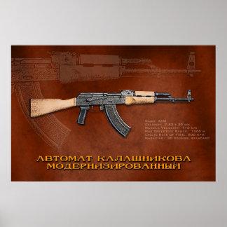 Russian AKM Poster