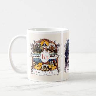 Russian Alphabet Pictures, Set II (No. 6 of 7) Coffee Mug