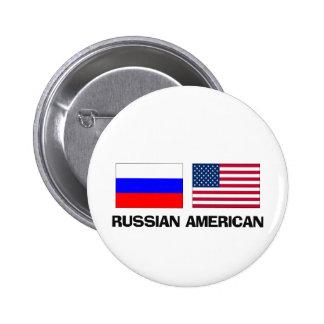 Russian American 2 Inch Round Button