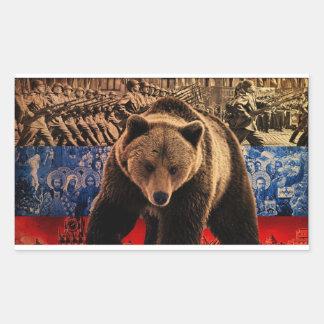 Russian Bear Sticker