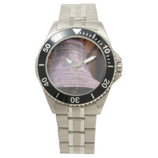 Russian Bell Photo Custom Stainless Steel Bracelet Watch