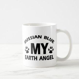 russian blue Cat design Coffee Mug